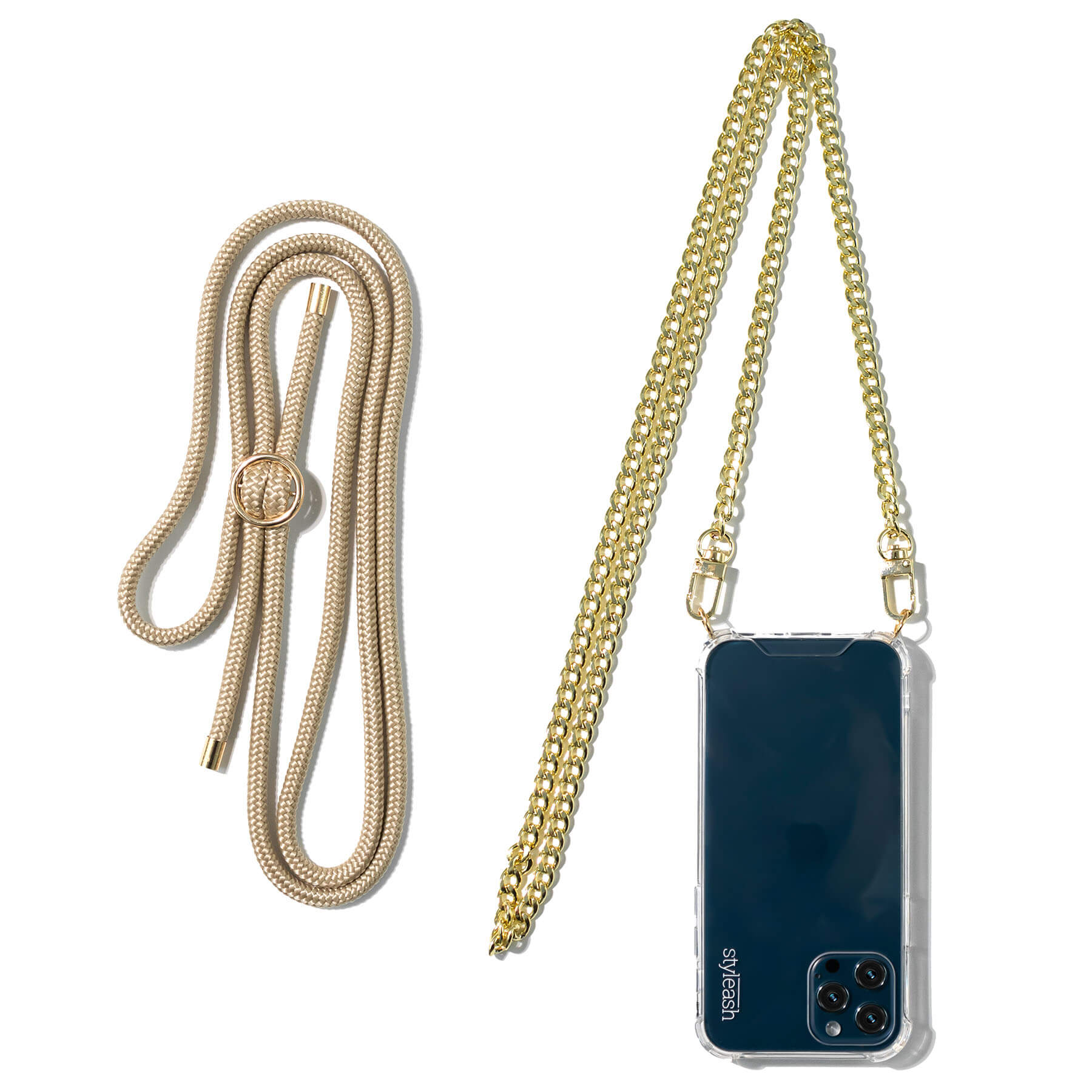 Cashmere Beige Single Rope