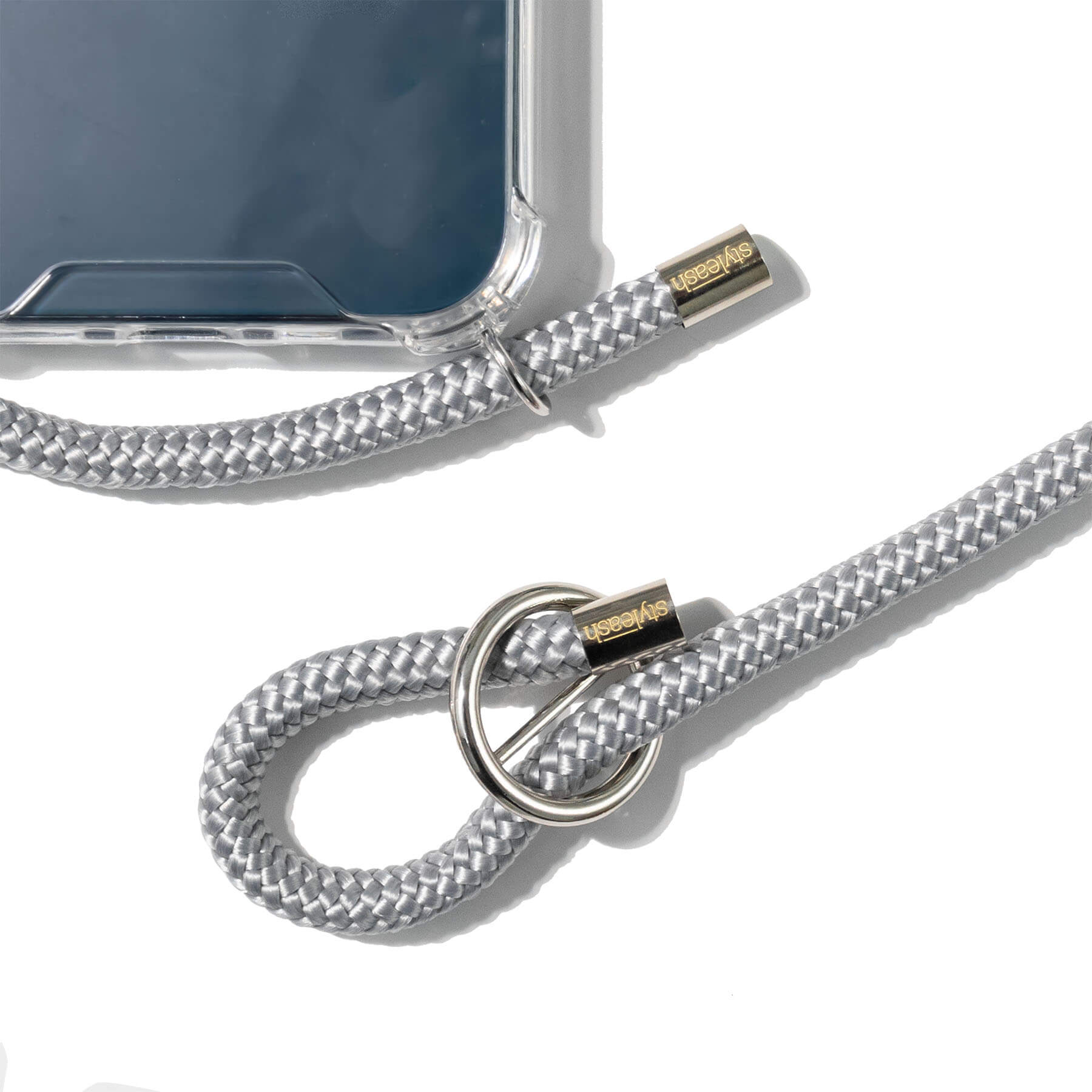 Silver Grey Single Rope